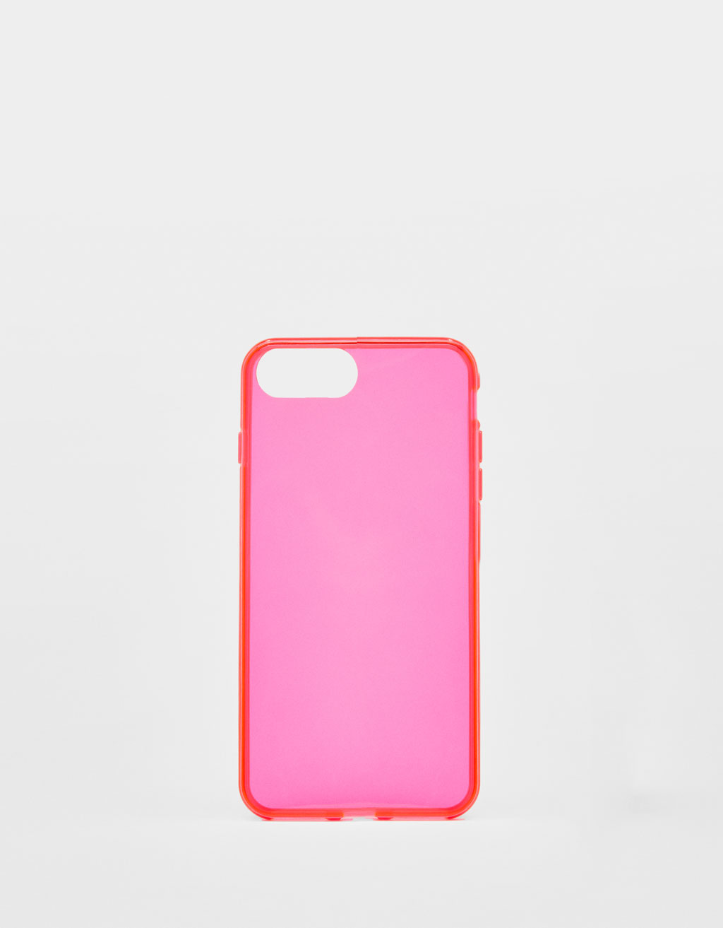Transparent neon iPhone 6 Plus / 7 Plus / 8 Plus case