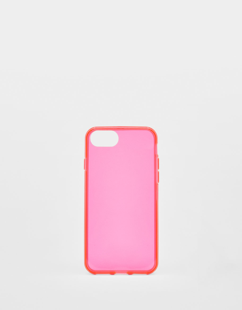 Cover trasparente fluo iPhone 6/6S/7/8