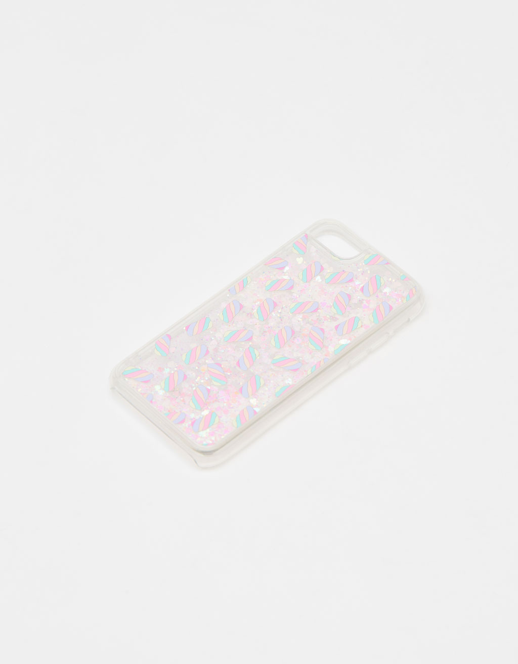 Carcassa purpurina iPhone 6/6S/7/8
