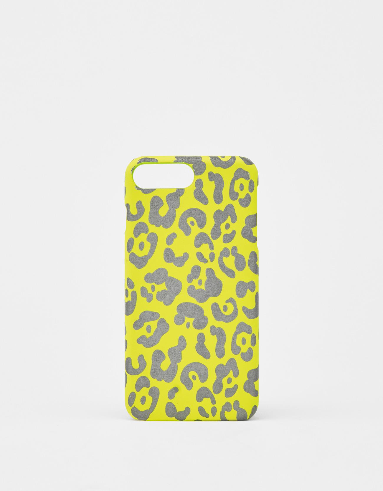 reputable site d7519 40da8 Reflective leopard print iPhone 6 Plus / 7 Plus / 8 Plus case - iPhone  Cases - Bershka Kazajstan