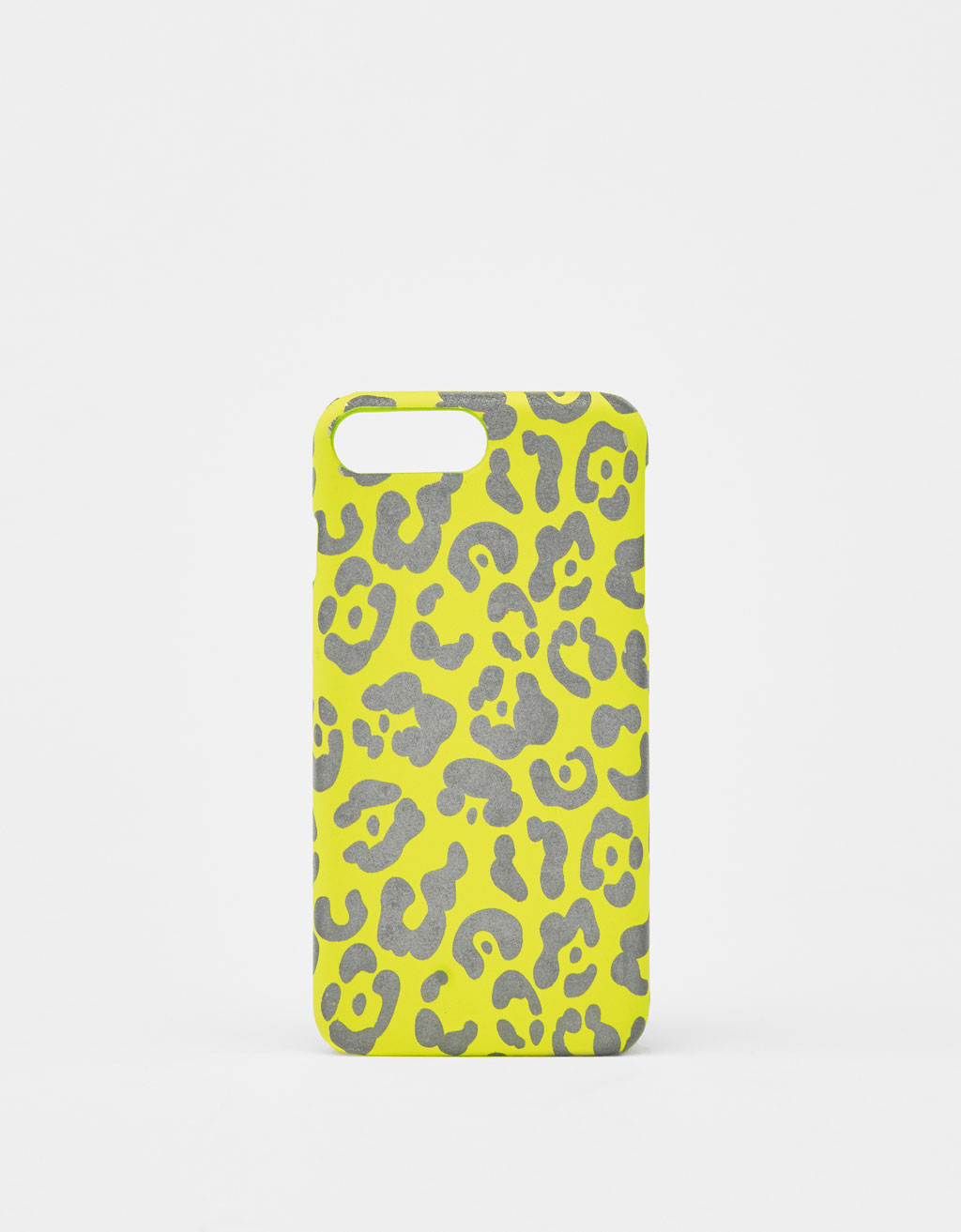 Cover leopardata catarifrangente iPhone 6 plus/7 plus/8 plus