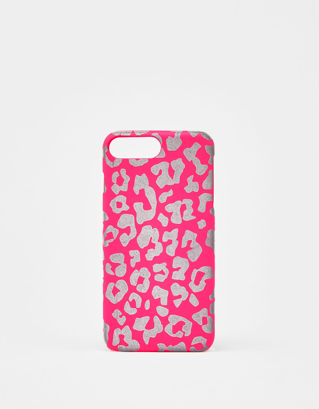 Reflective leopard print iPhone 6 Plus / 7 Plus / 8 Plus case