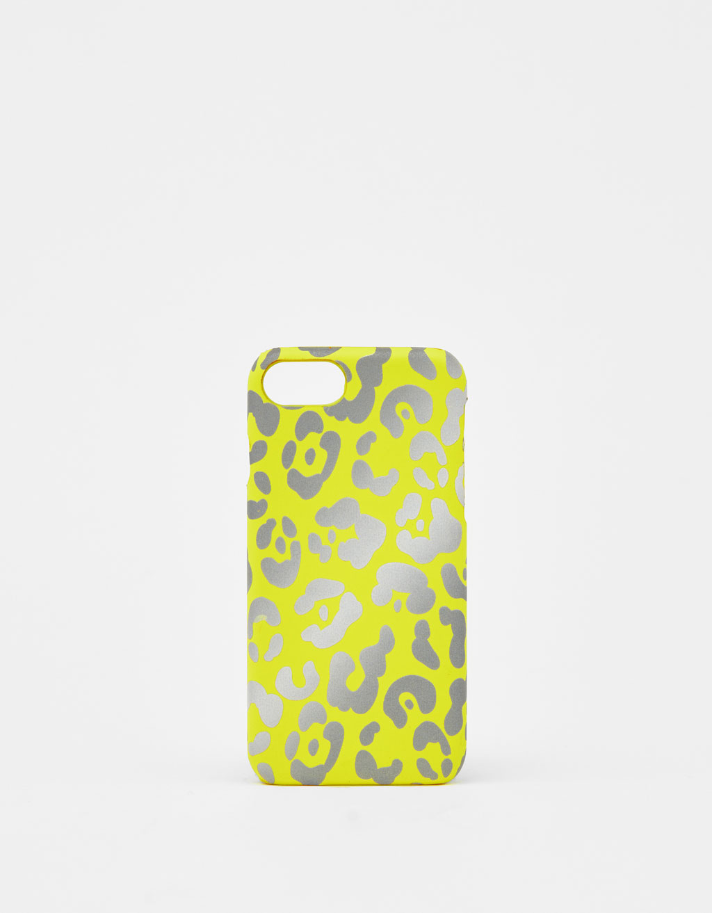 Cover leopardata catarifrangente iPhone 6/6S/7/8