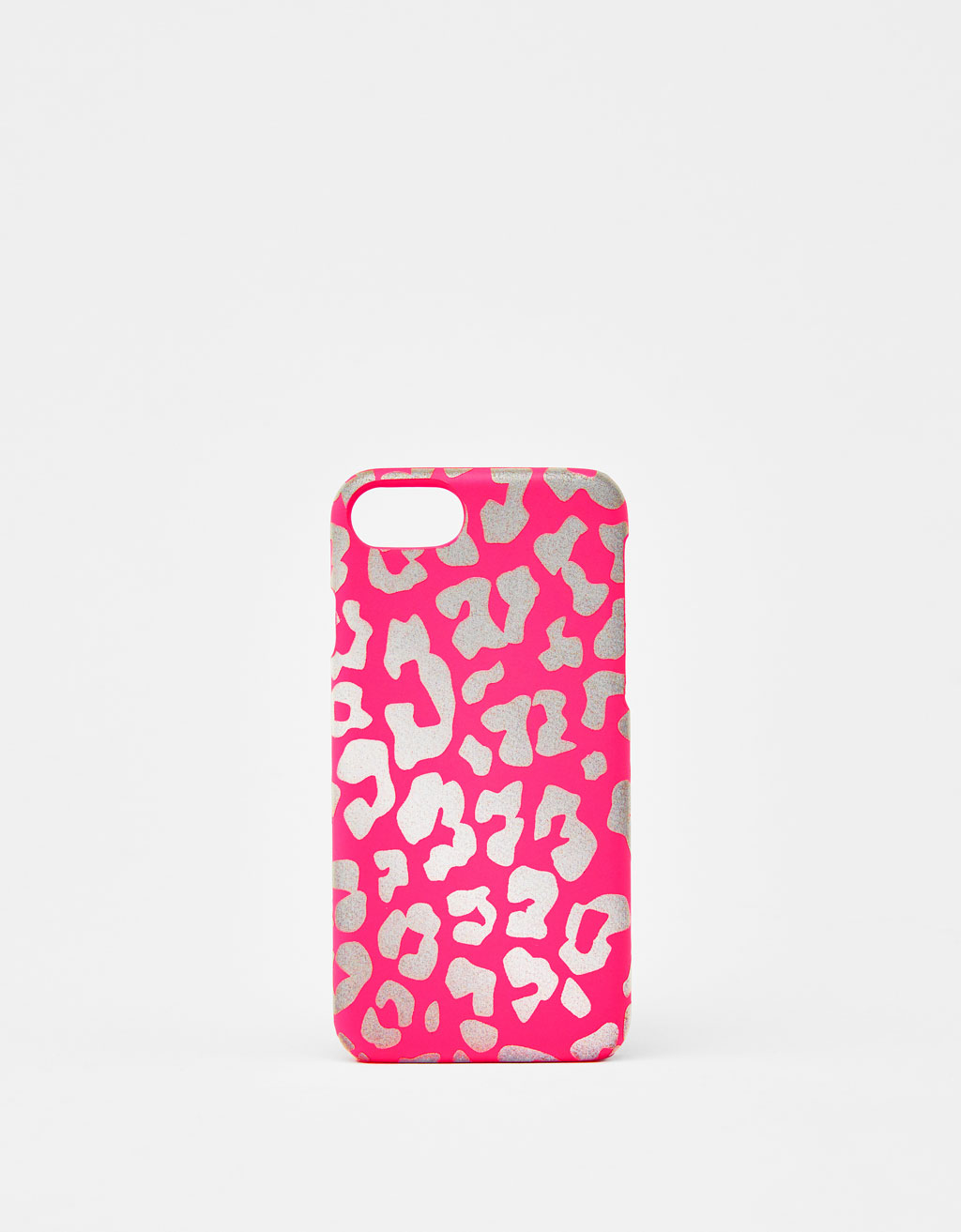 Reflective leopard print iPhone 6 / 6S / 7 / 8 case