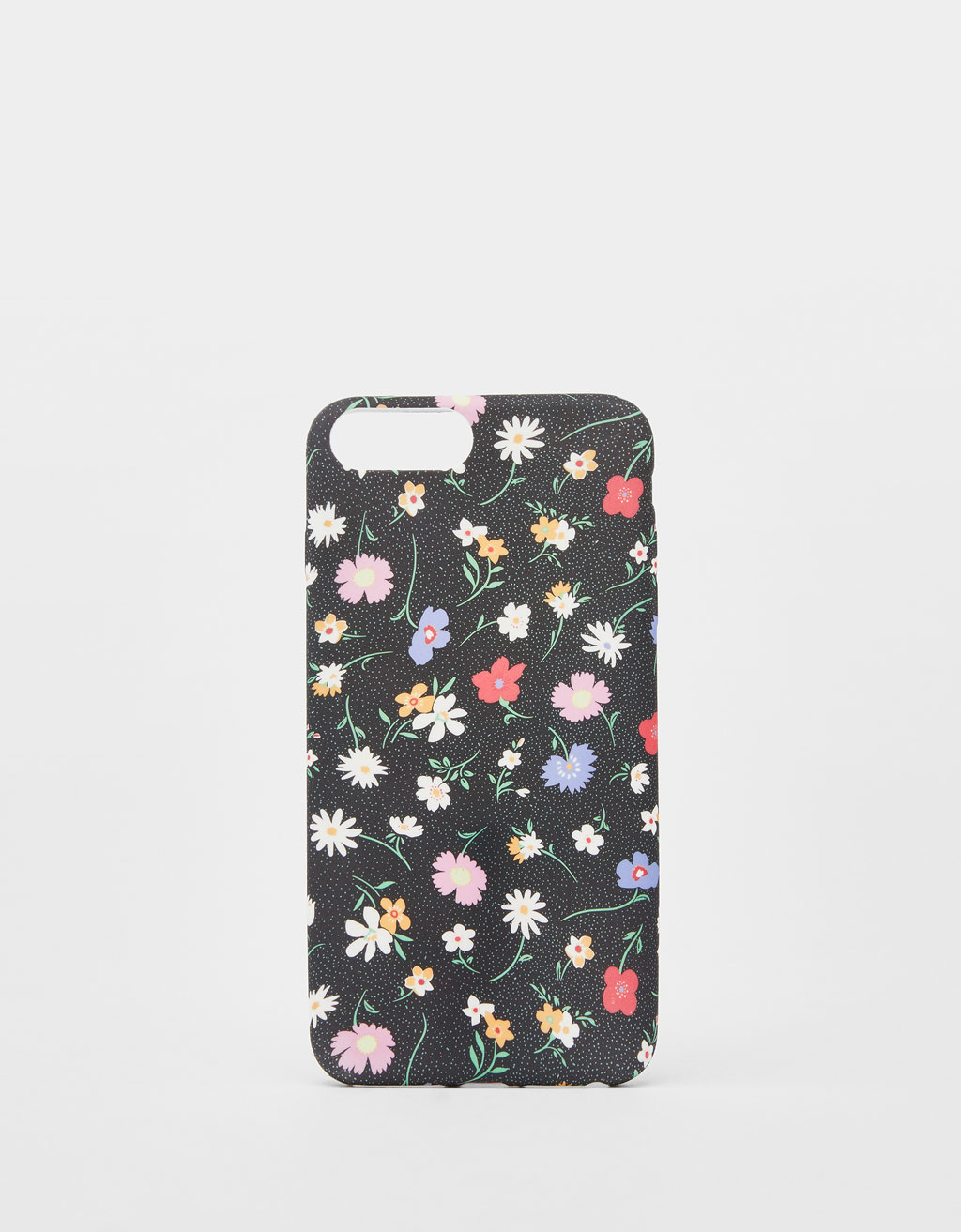 Mobilcover med blomsterprint til iPhone 6 plus / 7 plus / 8 plus