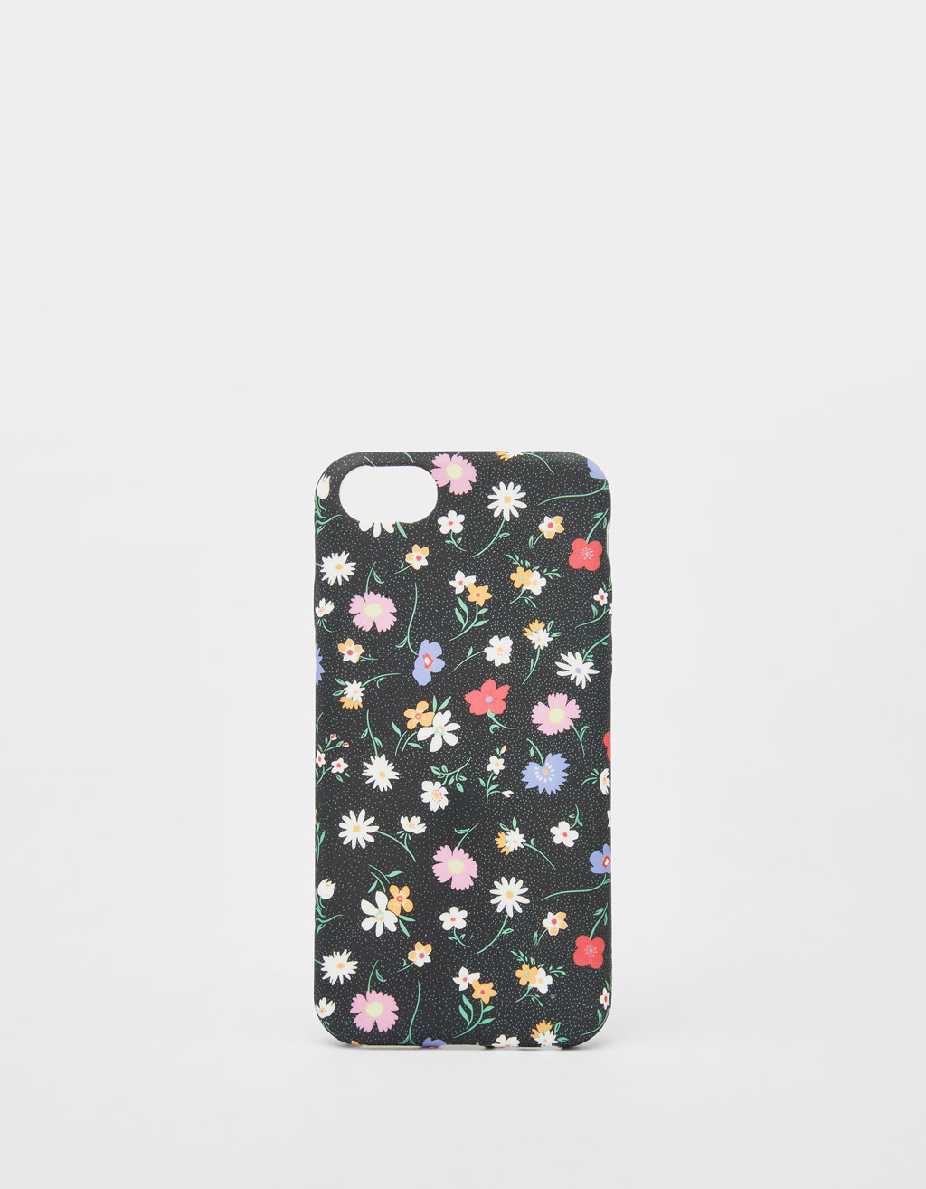 Mobilcover med blomsterprint til iPhone 6 / 6S / 7/ 8