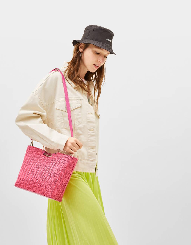 Τσάντα από ίνα ράφια