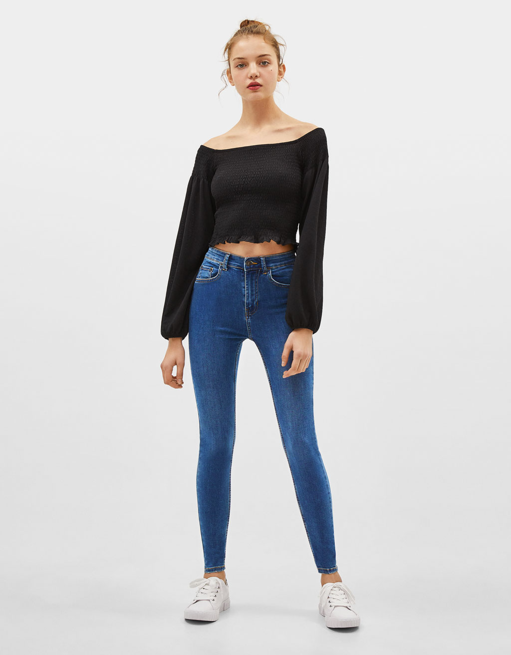 best value fashion design competitive price Skinny High Rise Jeans