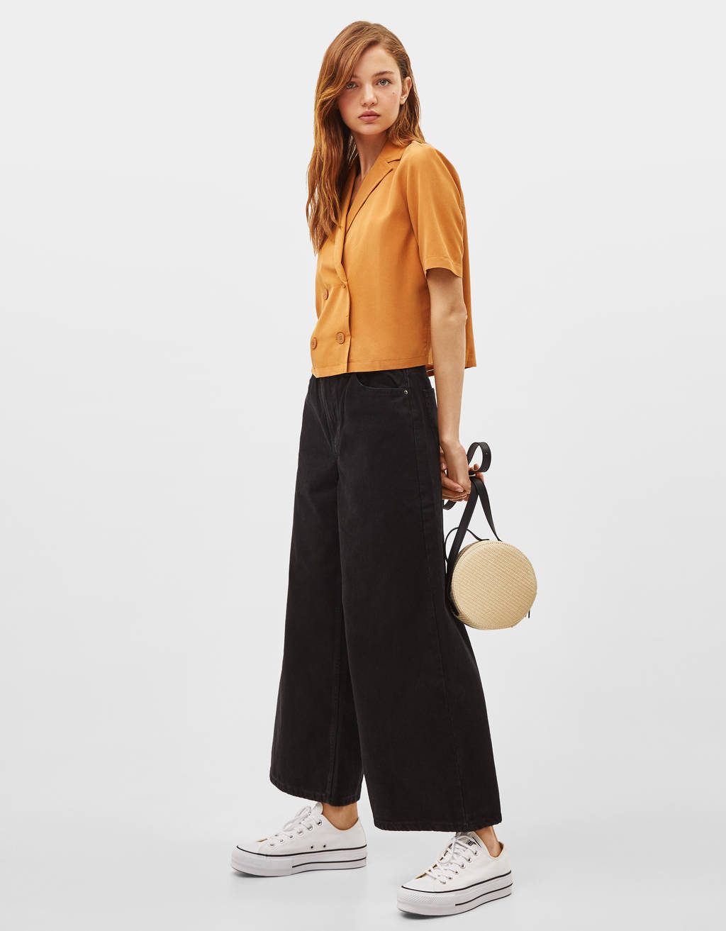 Texans culotte High Waist