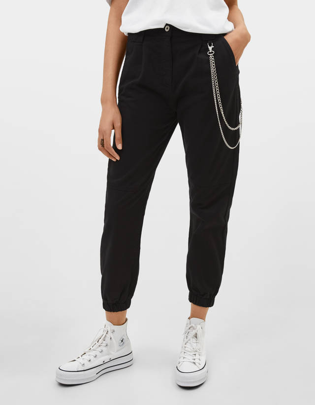 48bd946a7003 Joggers - Trousers - COLLECTION - WOMEN - Bershka Ireland
