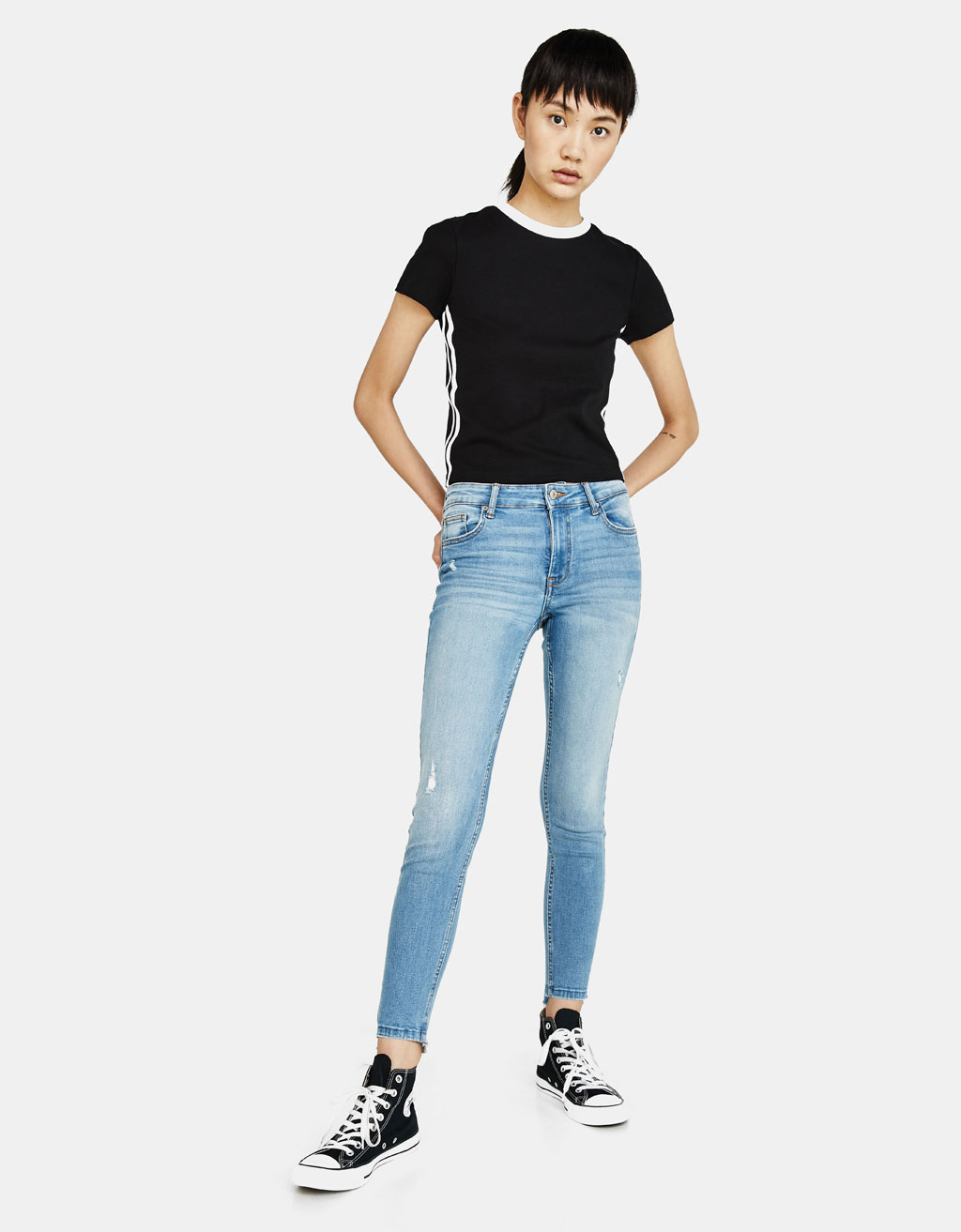 Jeanși Skinny Low Rise Fit