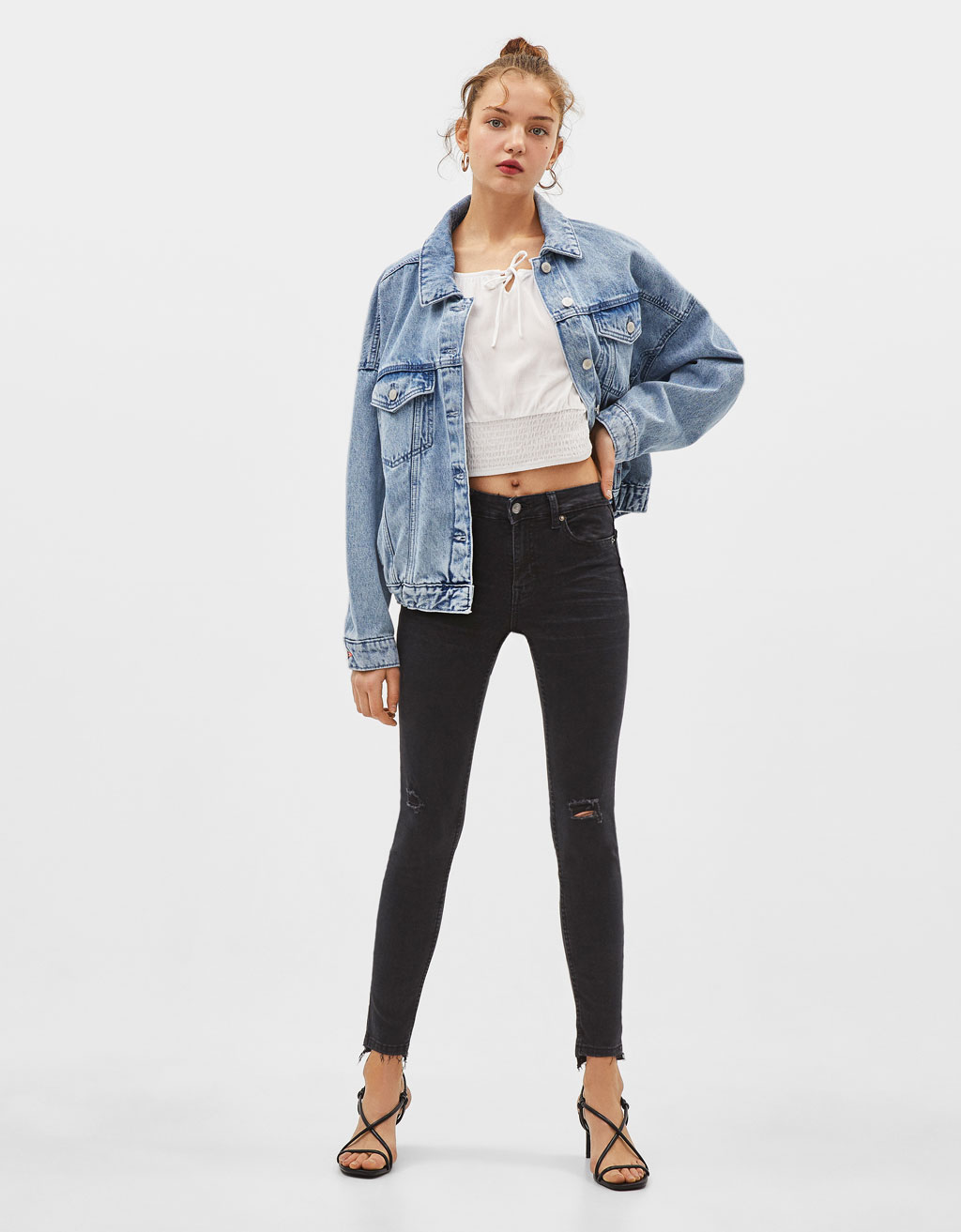 Jeans Skinny Low Rise