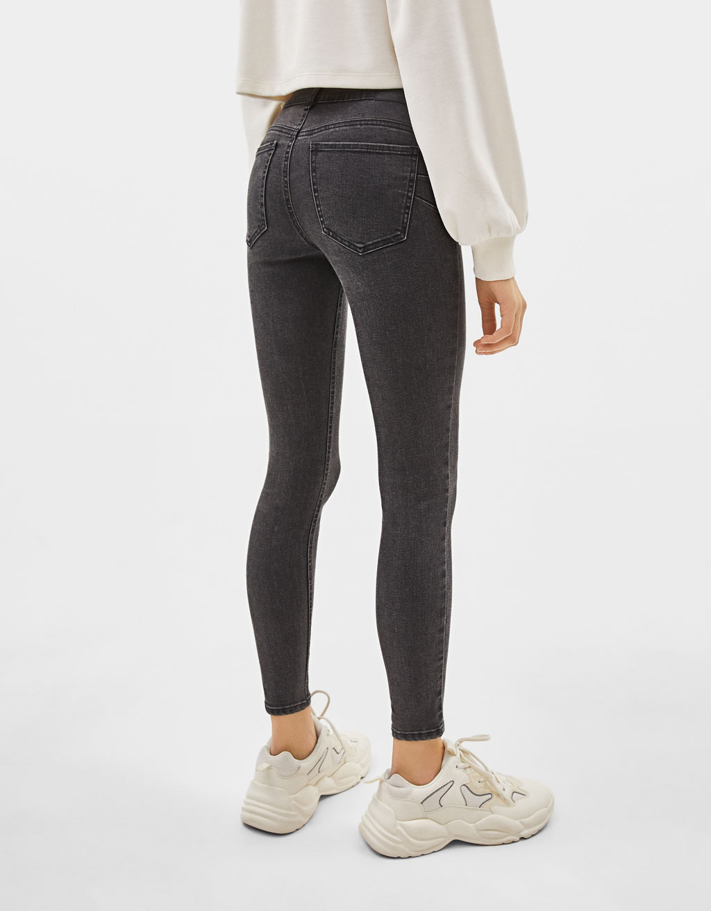 Push Up Low Rise Jeans