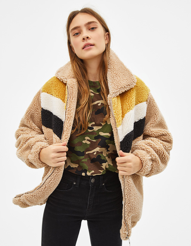 eb1378fc Coats - COLLECTION - WOMEN - Bershka United Kingdom