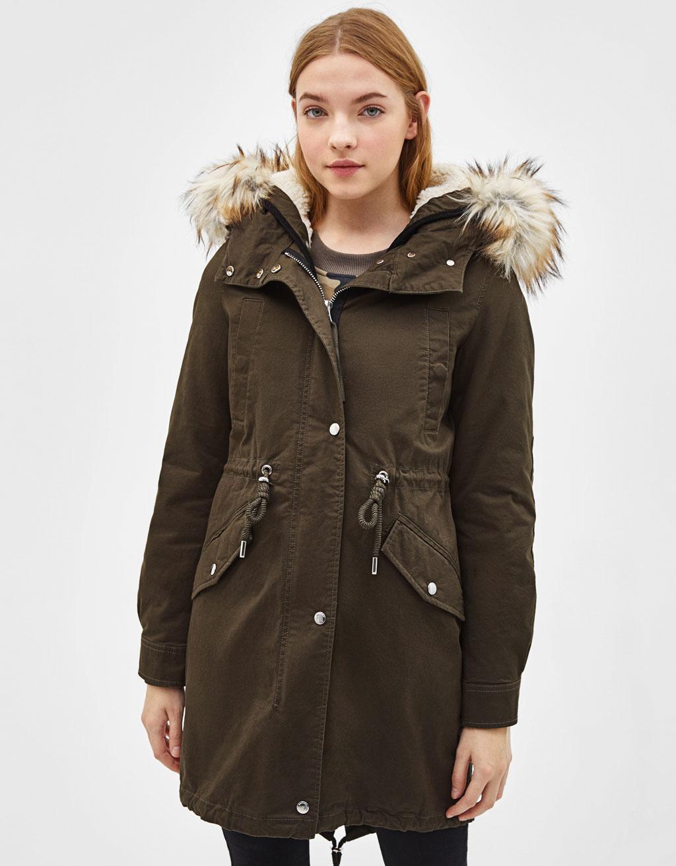 0e80503b971 Coats - COLLECTION - WOMEN - Bershka United Kingdom