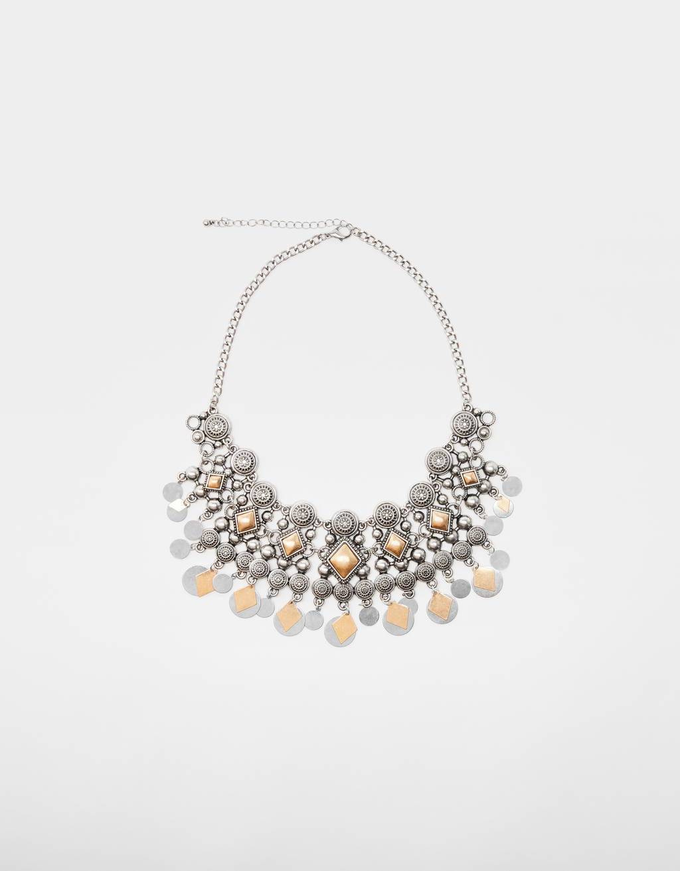 Boho-Halskette