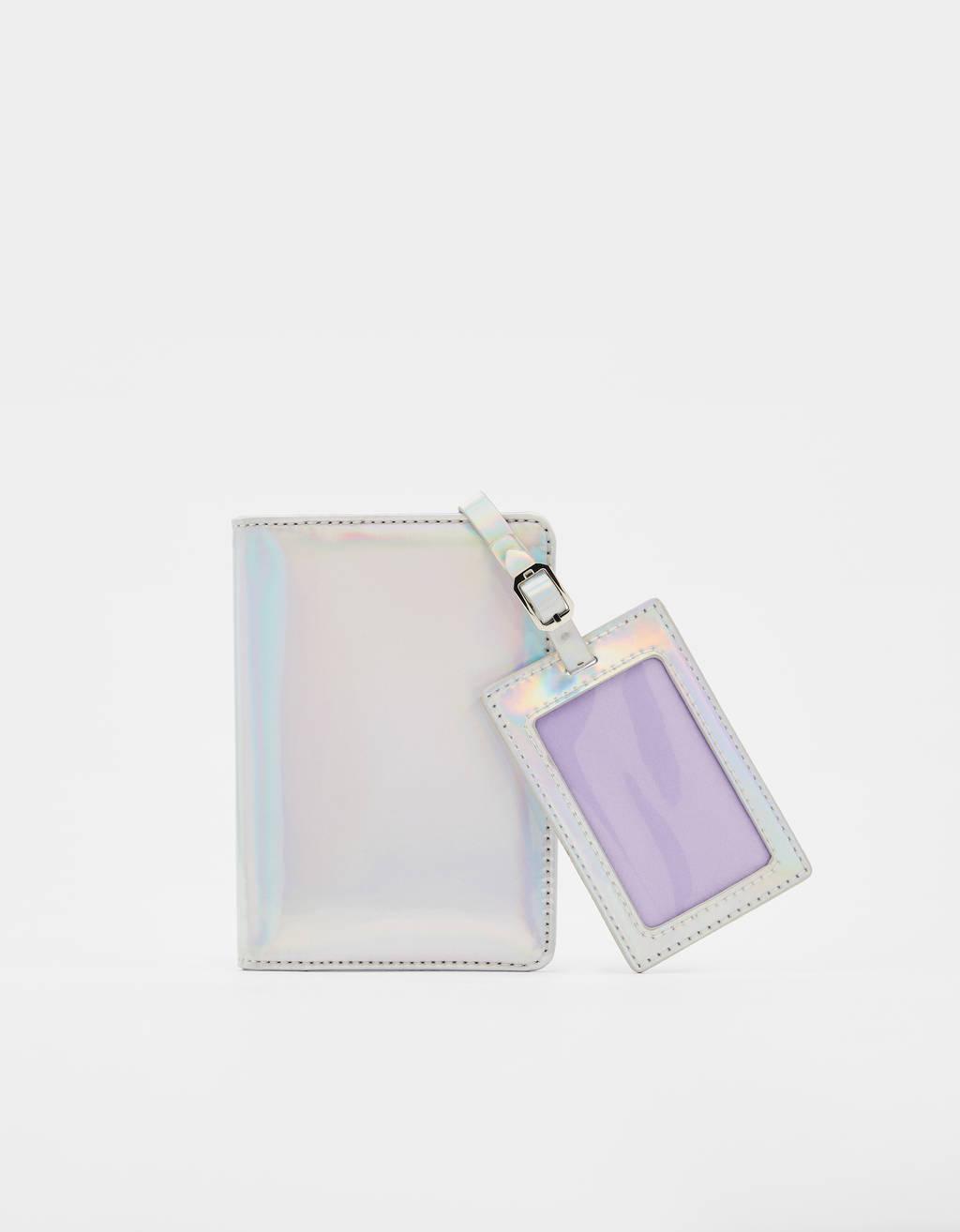 Pasaport çantası ve kartvizit cüzdanı