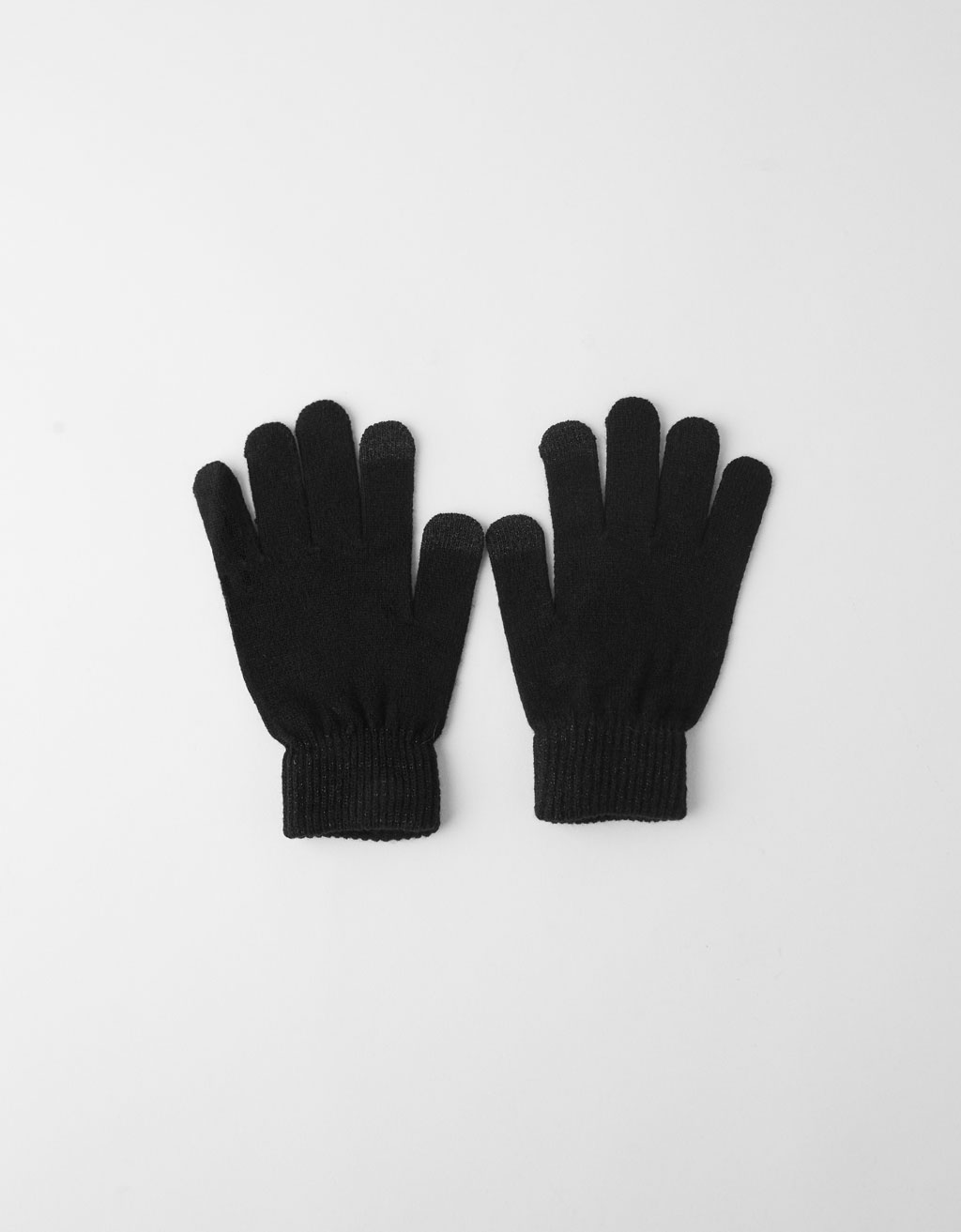 Metallic thread gloves
