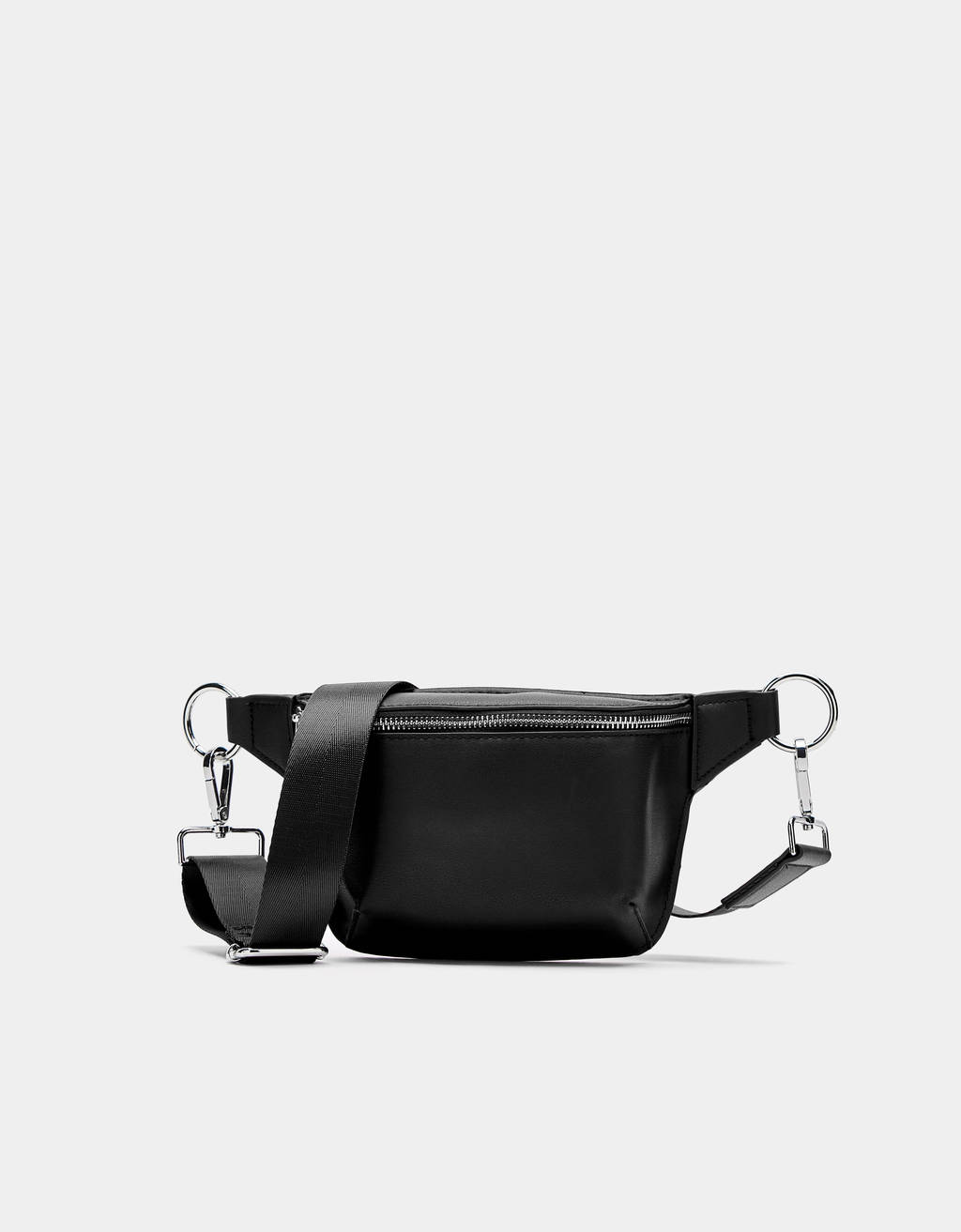 24f8a70f9eb3 Faux leather fanny pack - Joggers - Bershka United States