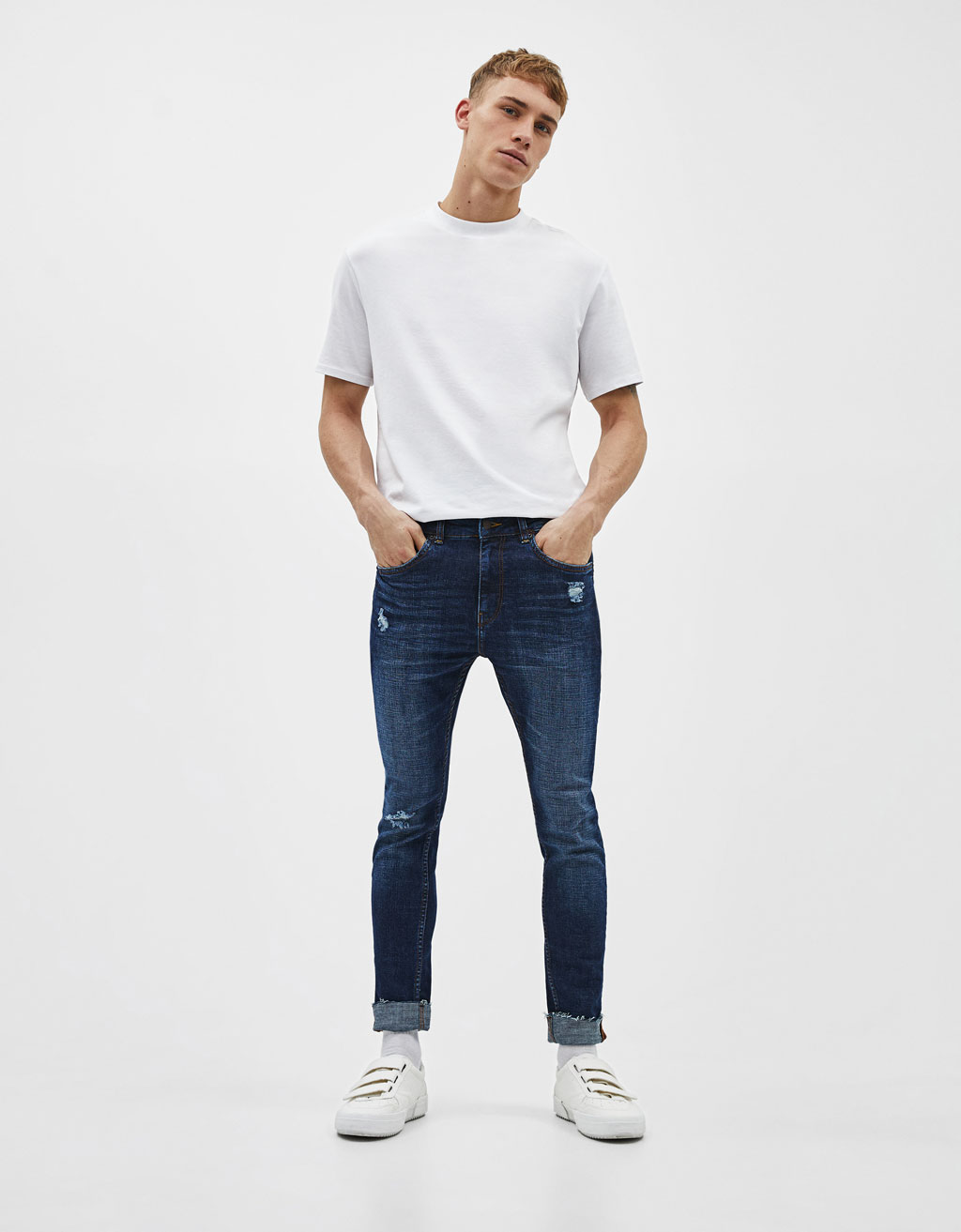 Jeansy super skinny fit