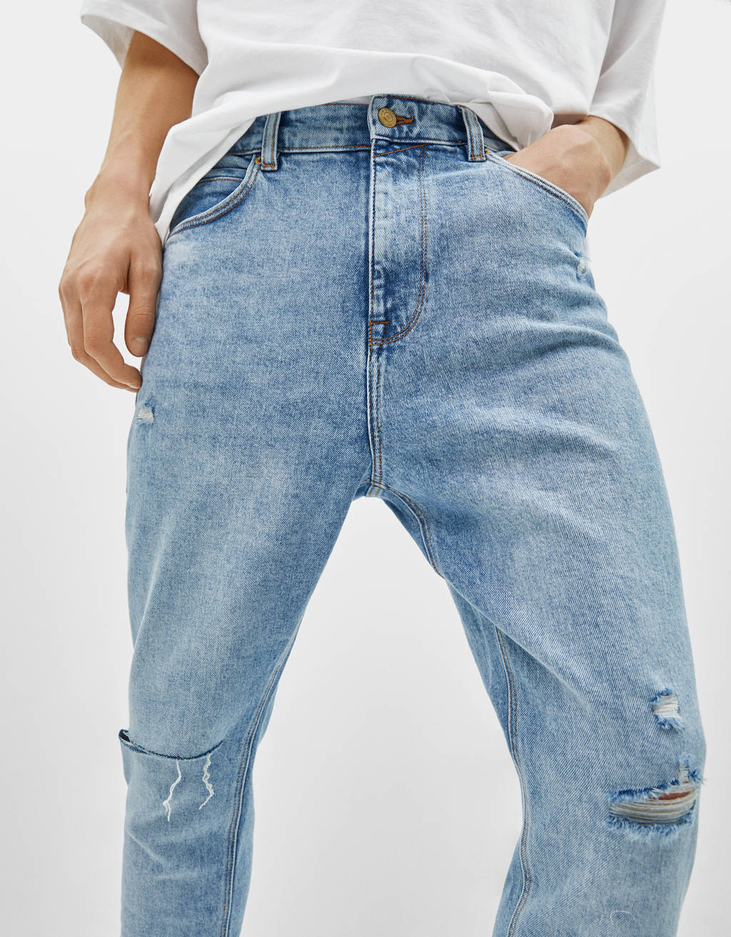 Jeans Carrot Fit