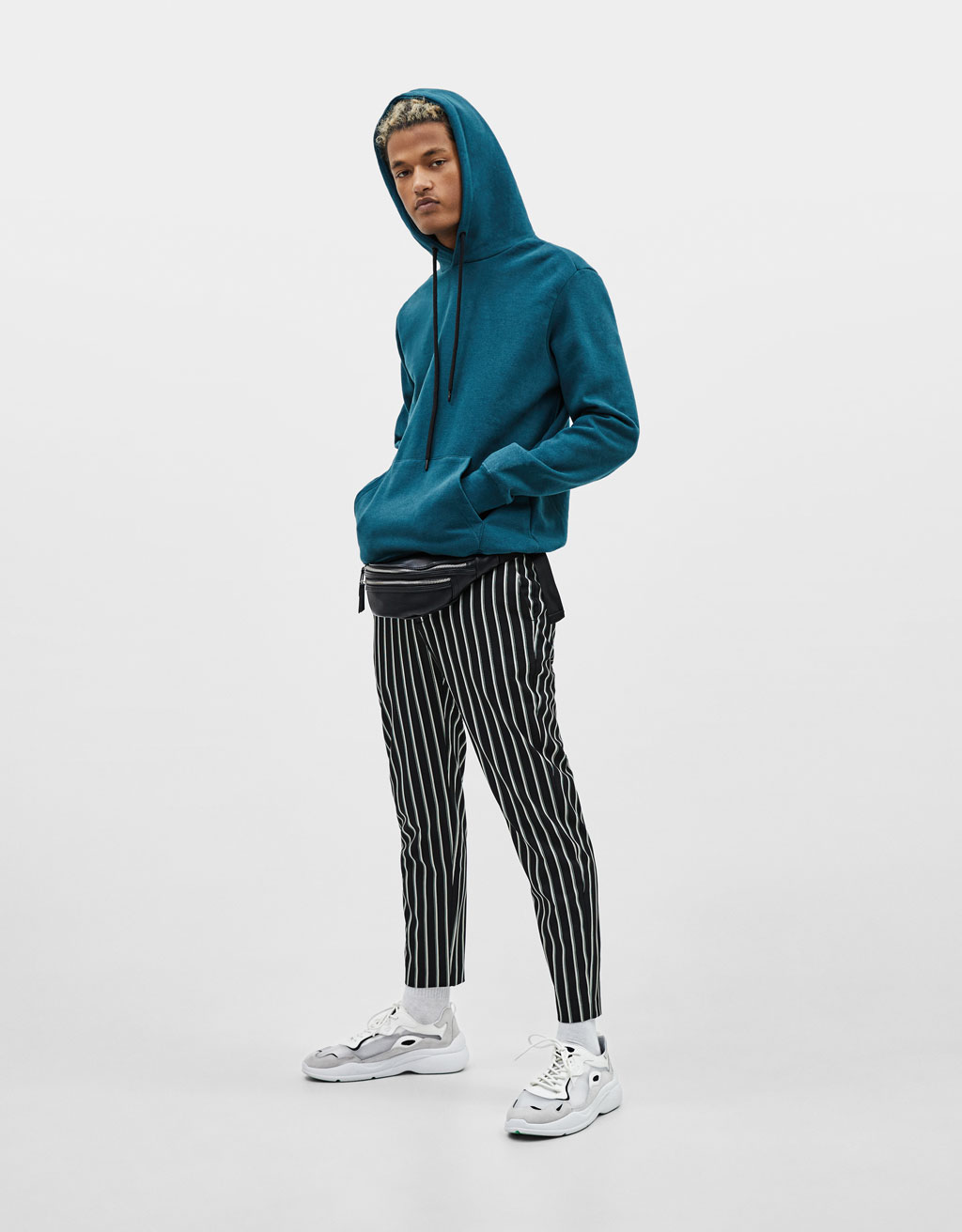 Slim fit tailored pants
