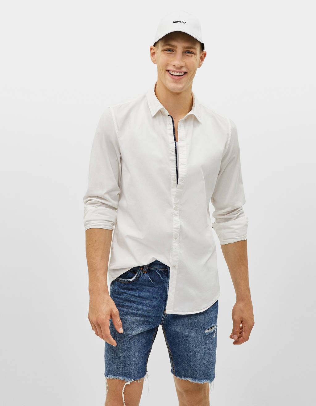 Camisa Regular Fit com manga comprida