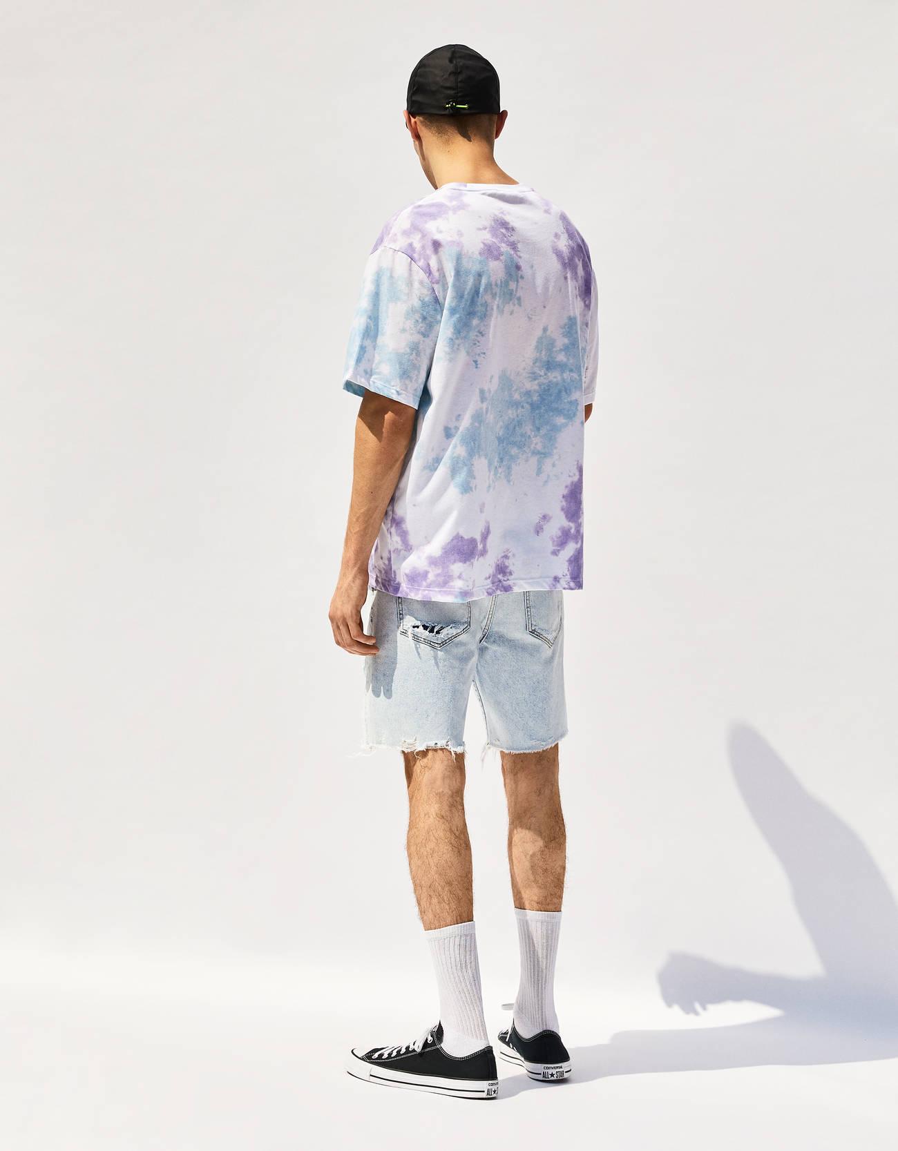6eb9cfd34dbd Μπλούζα tie dye - Trends - Bershka Greece