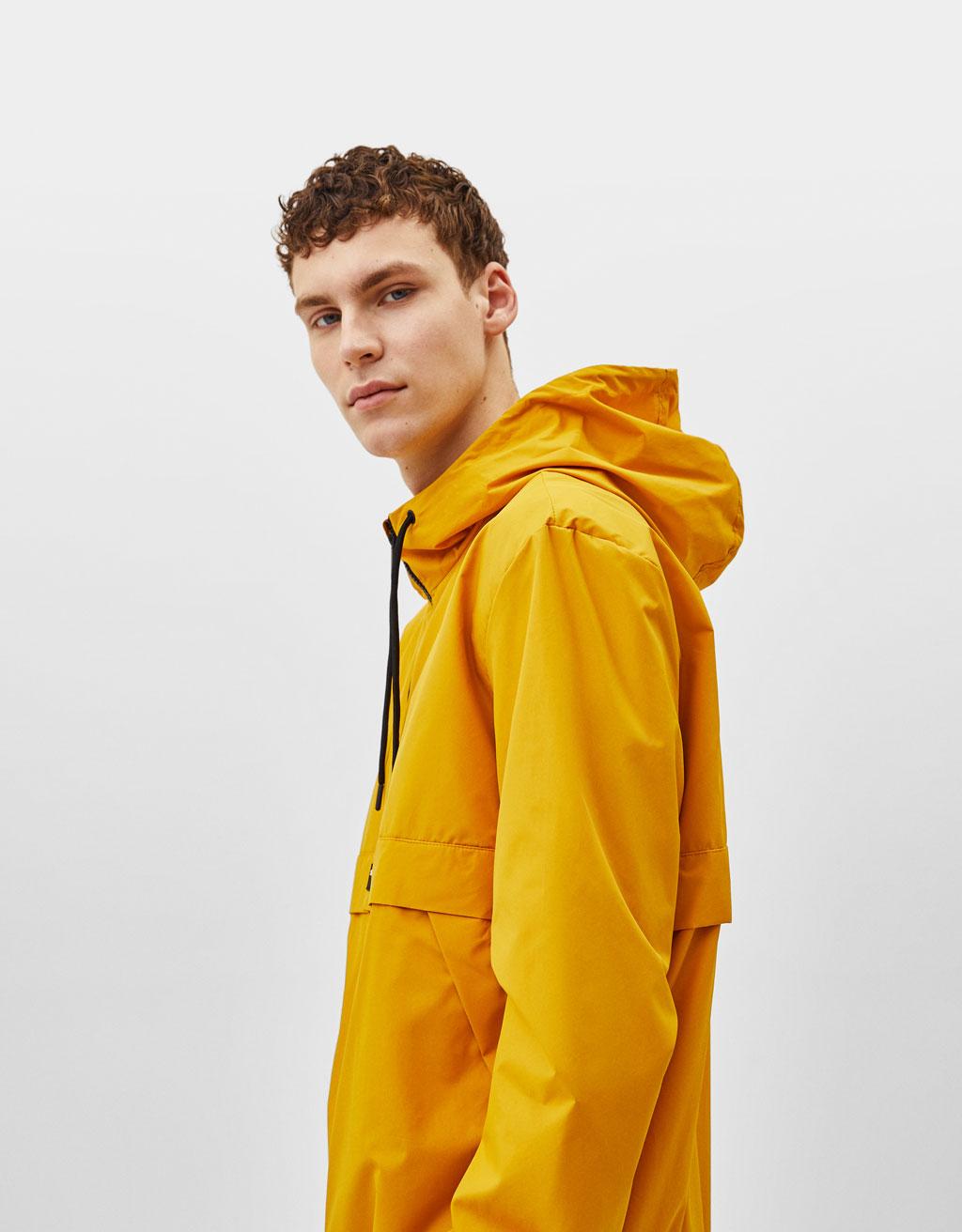 Куртка в стиле худи