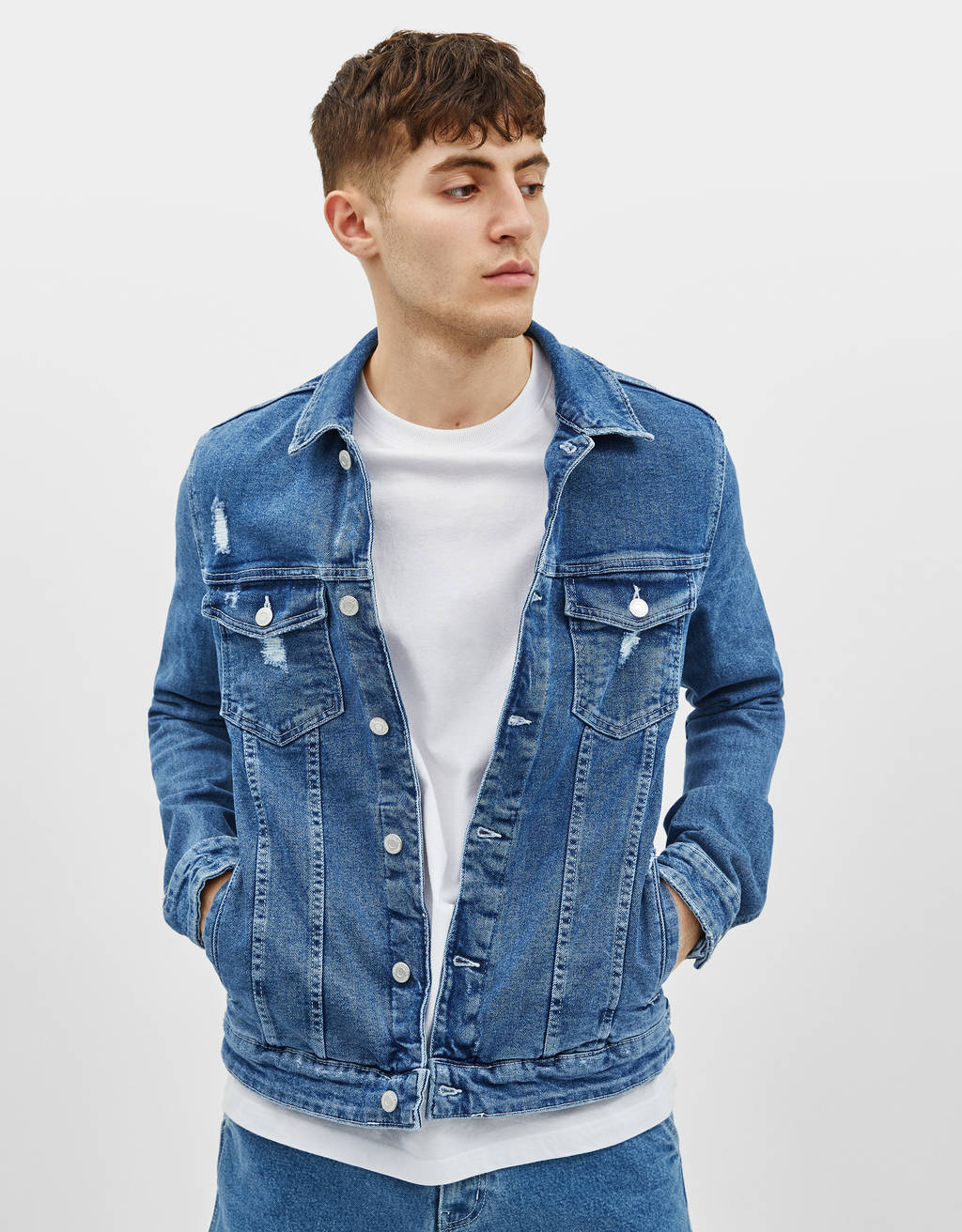 Denim jack slim fit