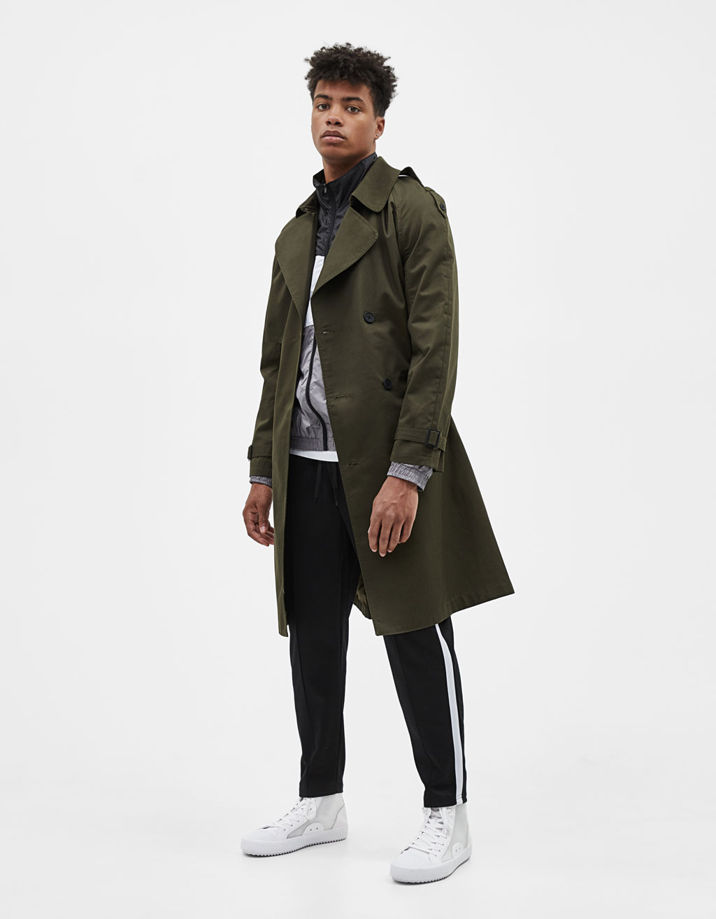 Manteau de type trench