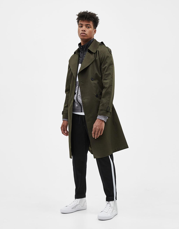 Manteau de type trench