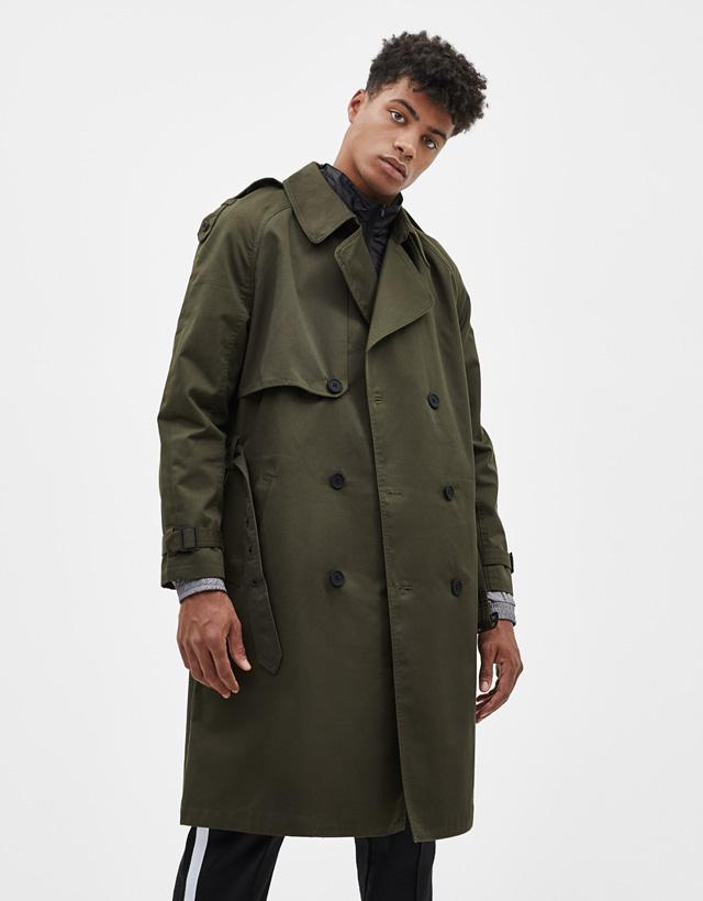 7e0cc545ce Kabátok - Könnyű kabátok - KOLLEKCIÓ - FÉRFI - Bershka Hungary