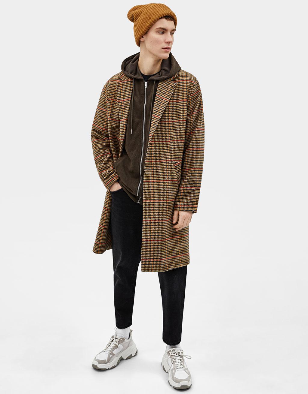 Veste en piqué à capuche