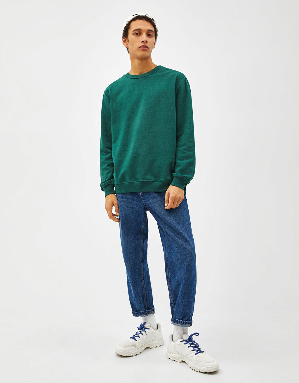 Sweatshirt col rond