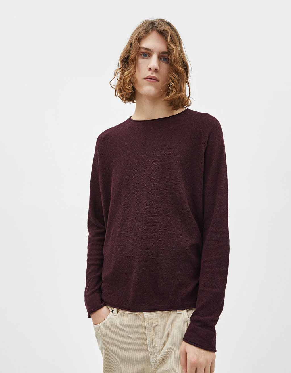 Fintstrikket sweater