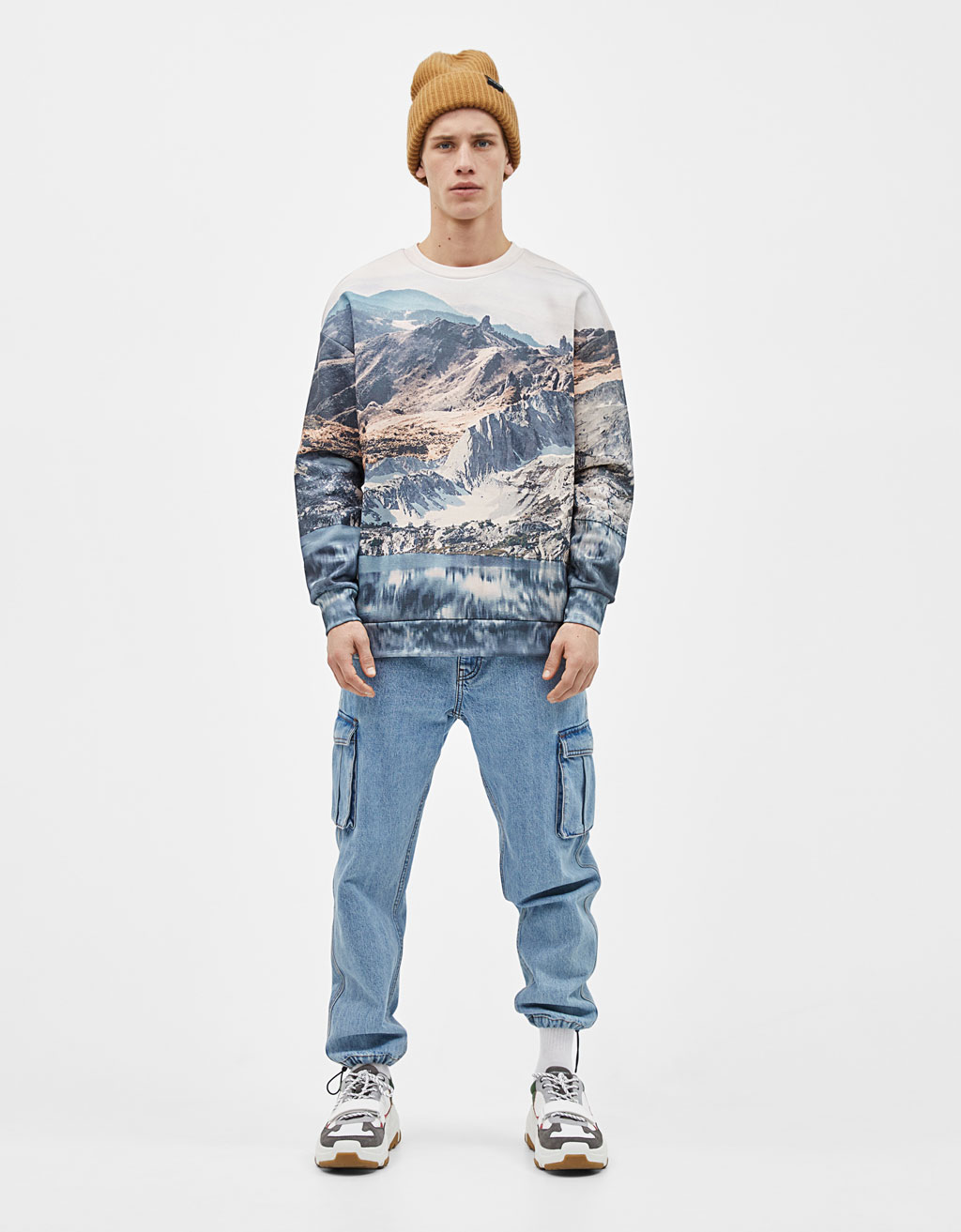 Sweatshirt with photo print