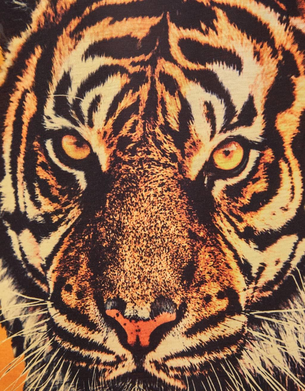 Tiger print vest top - null - Bershka Kosovo
