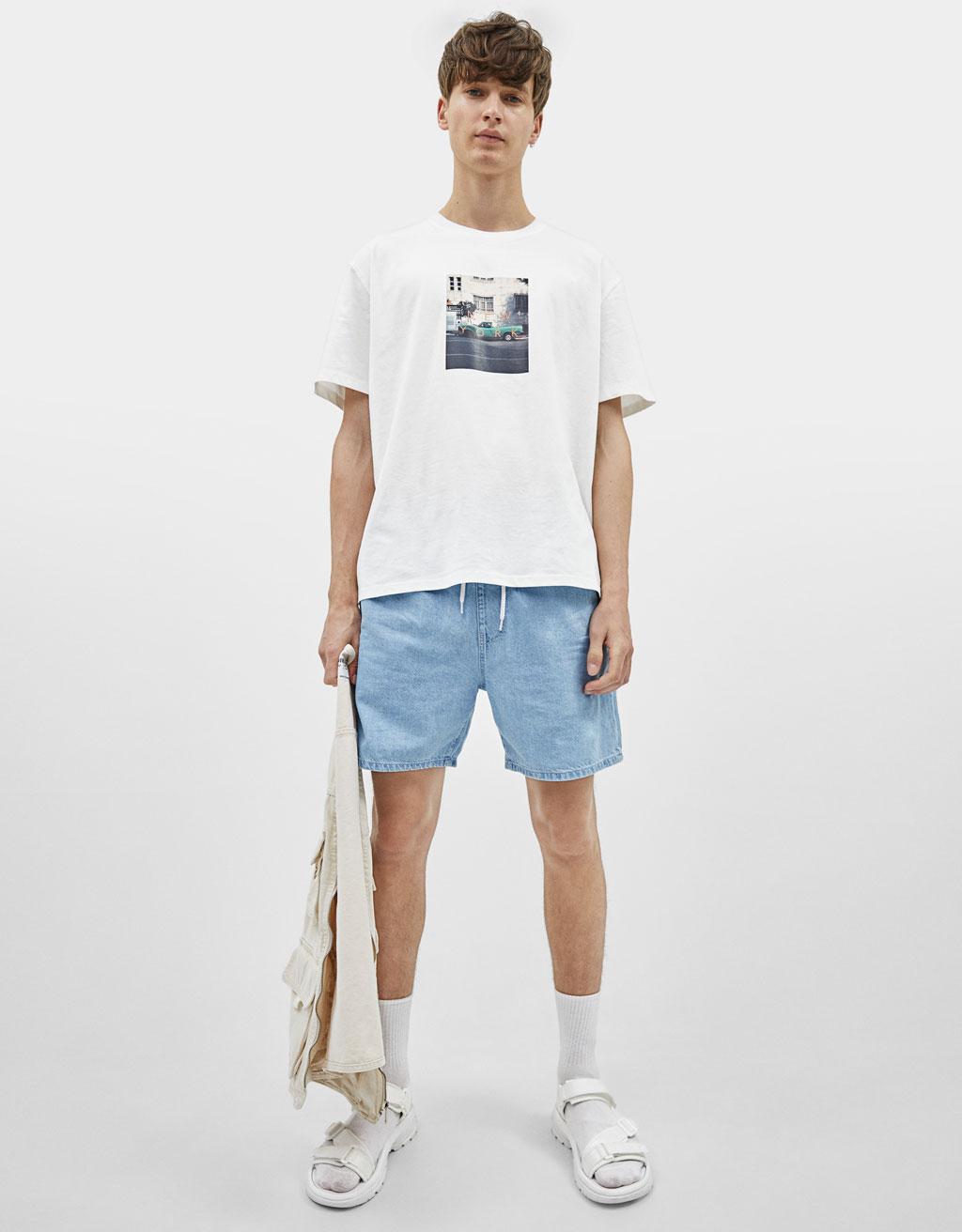 Majica s potiskom fotografije