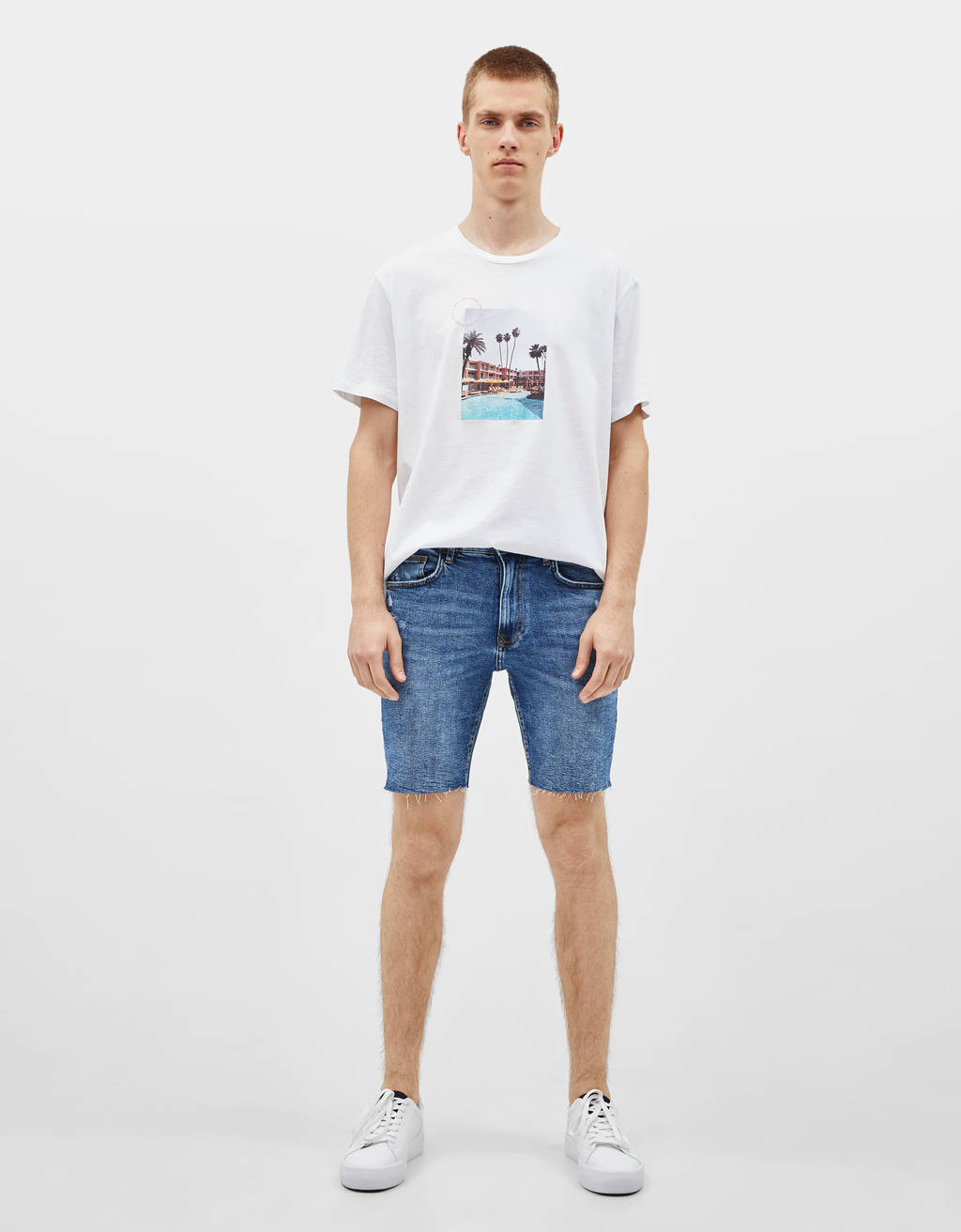 Shorts i denim – Skinny fit