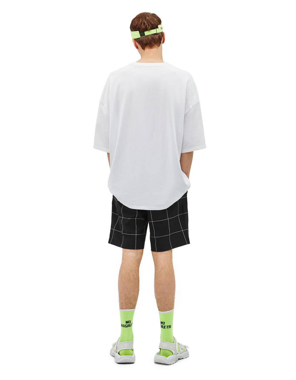 Jogger-style Bermuda shorts