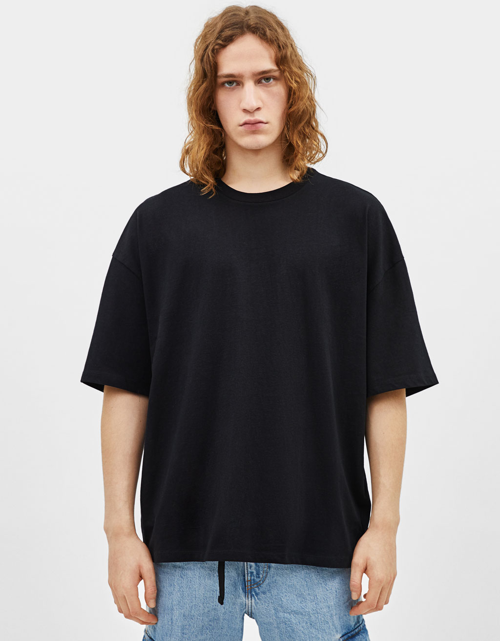 T-shirt coupe extra loose