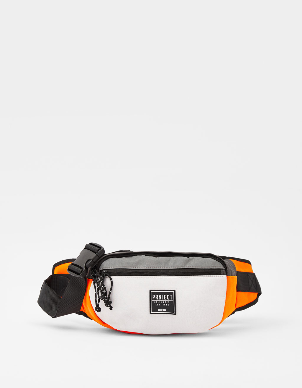 Colour block belt bag