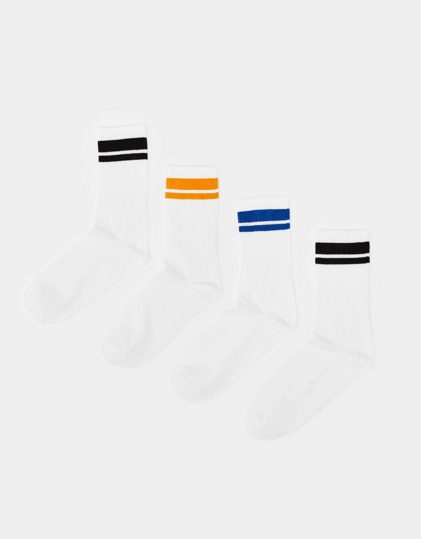 Набор из 4 пар носков в спортивном стиле