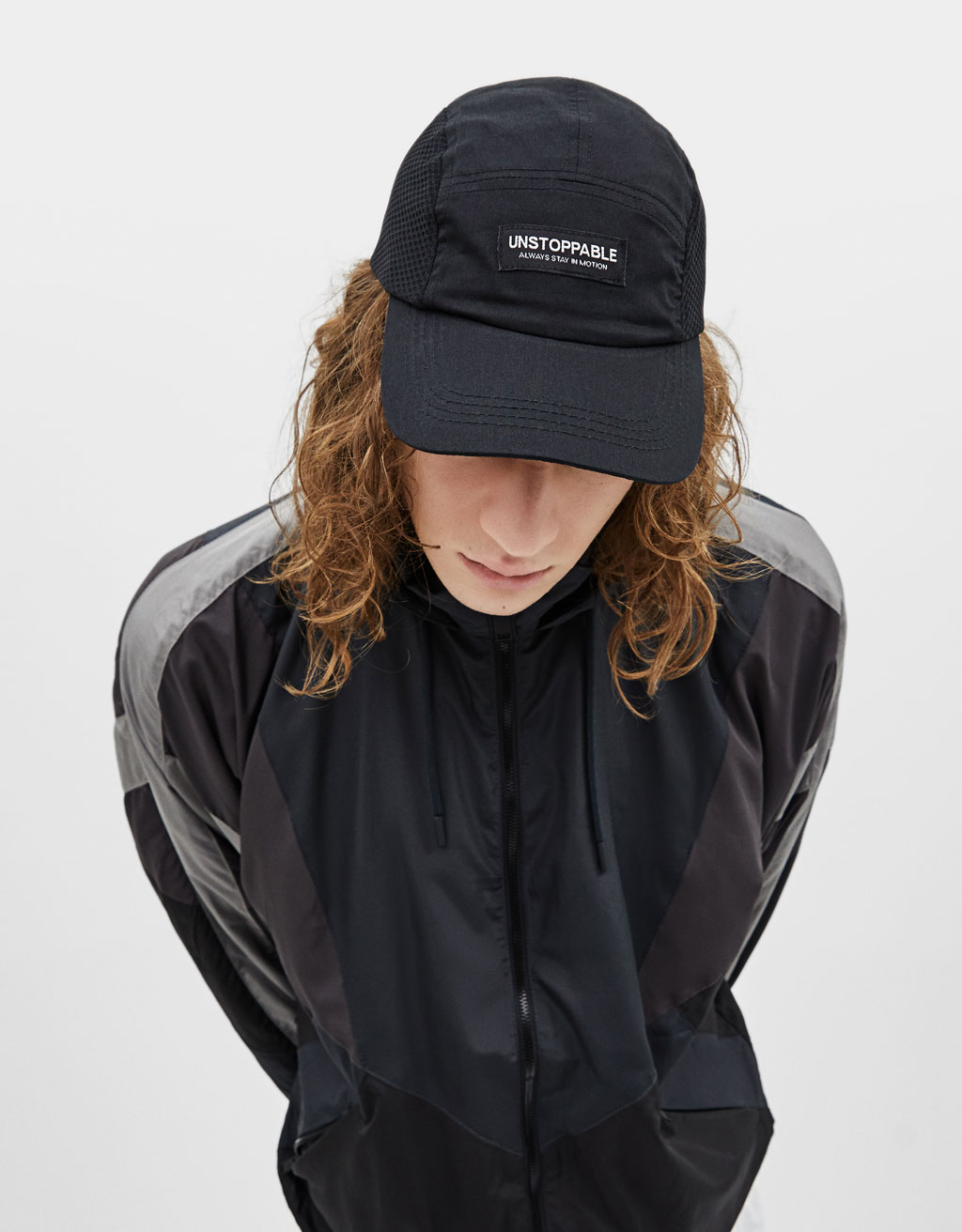 5-panel cap with patch