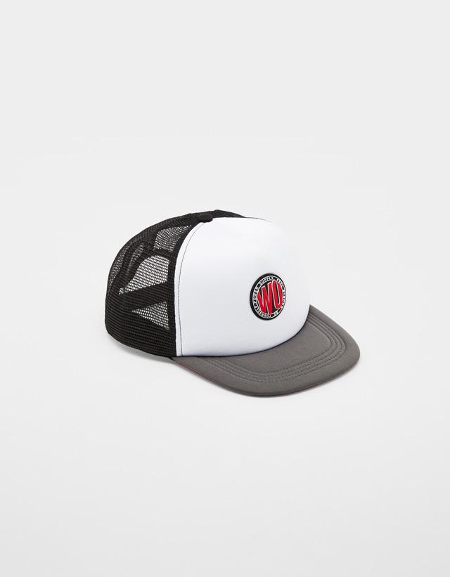 Trucker cap with patch - Caps and Hats - Bershka Ireland 43b7562dfc4