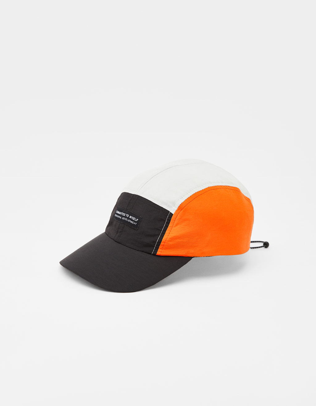 Colour block cap
