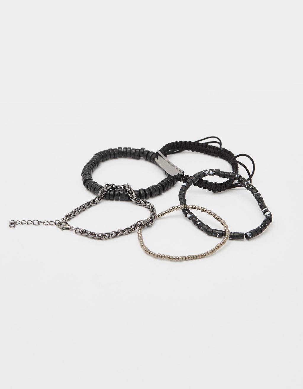 Lot de 5 bracelets