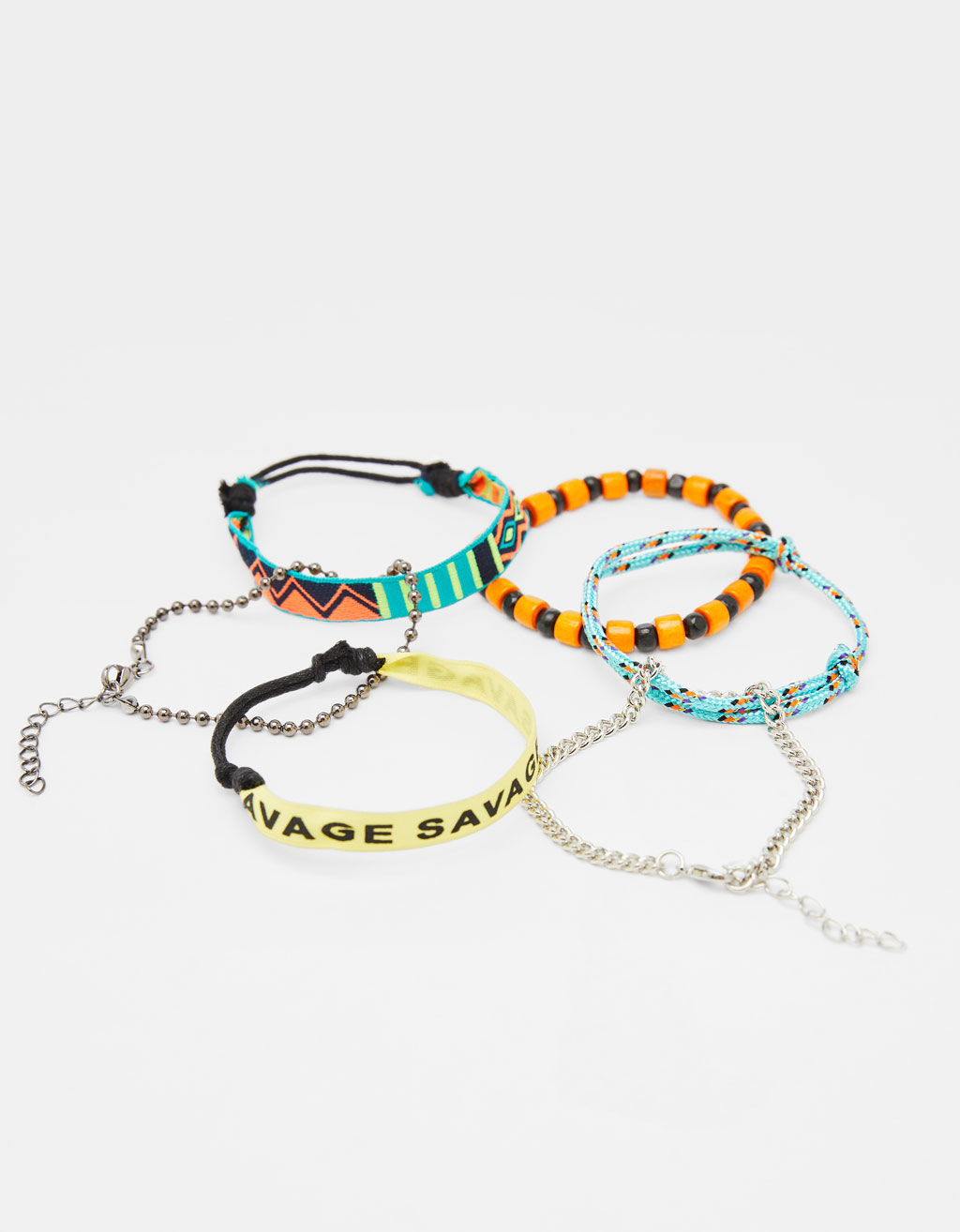 Assorted bracelet set