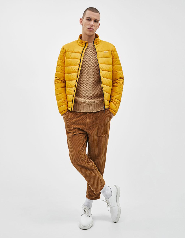 Легкая стеганая куртка